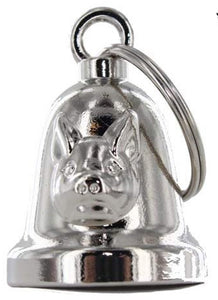 Hog - Pig - Motorcycle Ride Bell - SKU LL-BLC27-DL