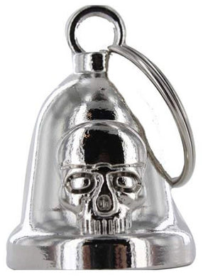 Skull - Motorcycle Ride Bell - SKU LL-BLC28-DL - Leather Lollipop