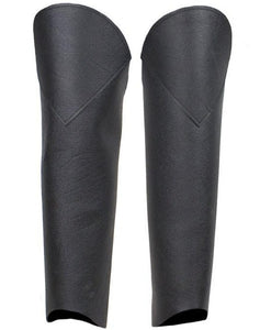 Leather Leggings With Back Zipper - SKU LL-C331-PS-DL - Leather Lollipop