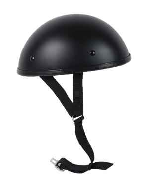 Classic Shorty Novelty Motorcycle Helmet Flat or Gloss - SKU LL-CLASSIC-NOV-HI - Leather Lollipop