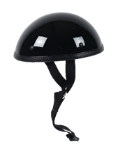 Classic Shorty Novelty Motorcycle Helmet Flat or Gloss - SKU LL-CLASSIC-NOV-HI