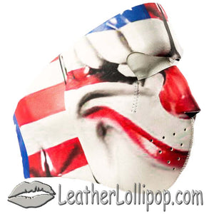 Full Face Neoprene Face Mask with Payday 2 Dallas Design - SKU LL-CUST6-PAYDAY-HI - Leather Lollipop