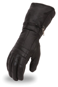 Ladies Cold Weather Gloves With Rain Mitt - SKU LL-FI120GL-FM - Leather Lollipop