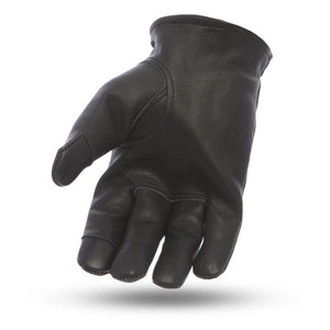 2-Tone Leather Driving Gloves - Choice of Colors - SKU LL-FI217GL-FM - Leather Lollipop