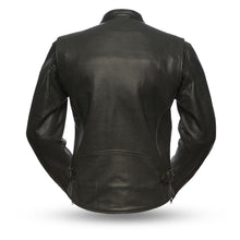 Turbine - Perforated Men's Leather Jacket - FIM213CNP - Leather Lollipop