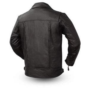 Mastermind - Men's Leather Motorcycle Jacket - SKU LL-FIM244BNKDZ-FM - Leather Lollipop