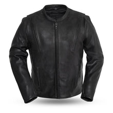 Revolt - Men's Motorcycle Leather Riding Jacket - FIM271CPMZ - Leather Lollipop