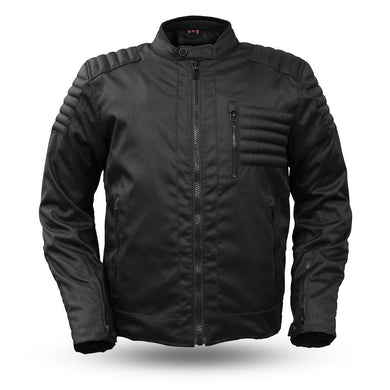 Invincible - Men's Cordura Motorcycle Jacket - FIM285TEX5X - Leather Lollipop