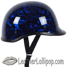 Polo Jockey Novelty Motorcycle Helmet Boneyard Colors - SKU LL-BY-POLO-NOV-HI
