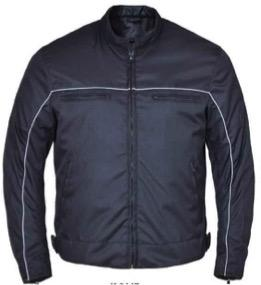 UNIK Men's Nylon Textile Jacket - Leather Lollipop