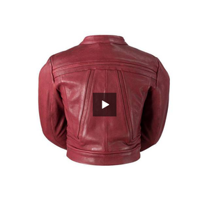 Pixie - Women's Leather Racing Jacket - WBL1071 - Leather Lollipop