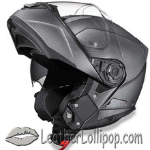 DOT Daytona Glide Modular Motorcycle Helmet in Gun Metal Grey Metallic - SKU LL-MG1-GM-DH