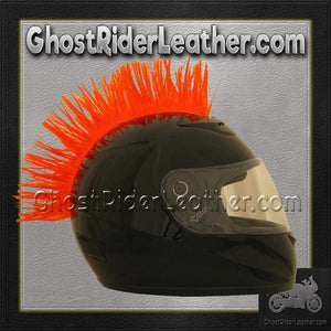 Helmet Mohawks - 10 Color Choices - Motorcycle Helmet Accessories / SKU GRL-MOHAWK-HI