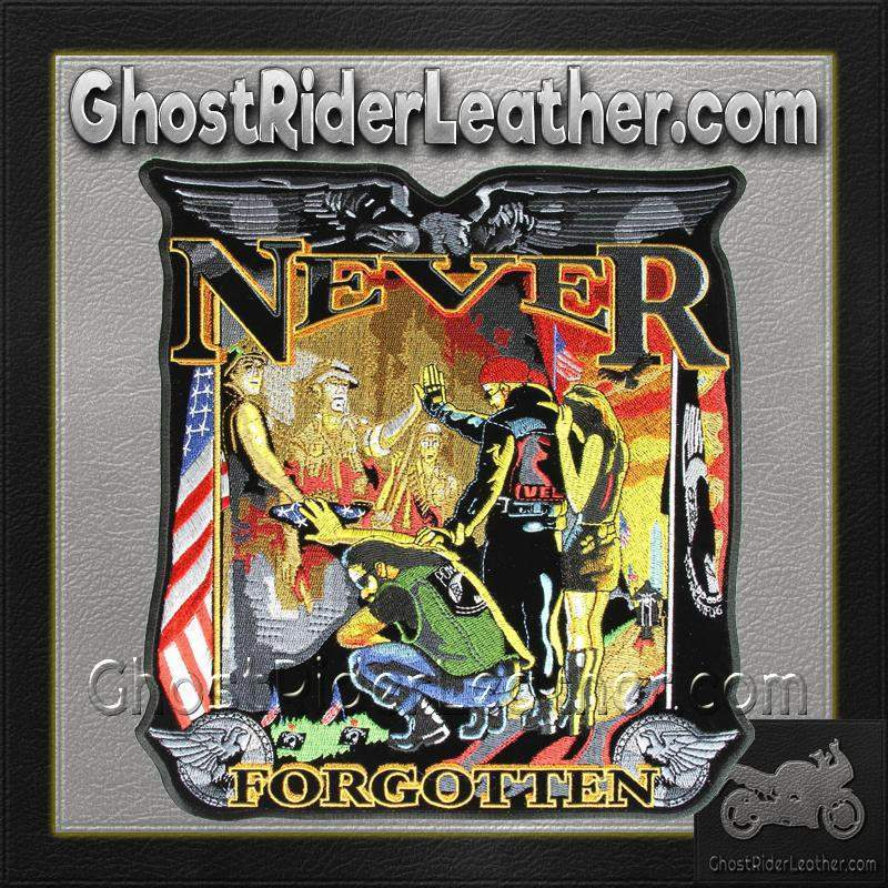 Vietnam Wall - Never Forgotten Vest Patch - Large - SKU GRL-PPA4147-HI