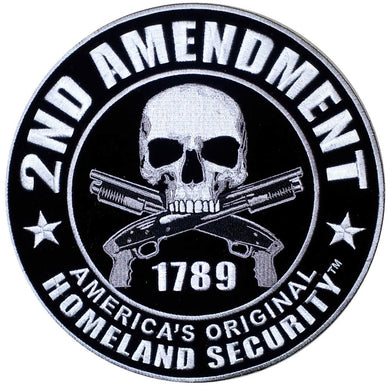 2nd Amendment Original Homeland Security Vest Patch - SKU LL-PPA5957-HI