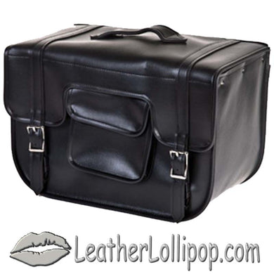 PVC Carry On Motorcycle Single Saddlebag - SKU LL-SD12-PV-DL