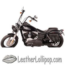 PVC Motorcycle Solo Swing Arm Bag - SKU LL-SD4097-SOLO-DL