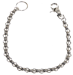 Chain with Skulls, Great Addition to your Wallet - SKU LL-WTC8-DL