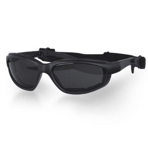 Daytona Goggles in Choice of Clear or Smoke or Yellow Lens - SKU LL-G-C-S-Y-DH