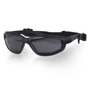 Daytona Goggles With Transitional Lenses - Clear To Smoke - SKU LL-G-T-DH - Leather Lollipop