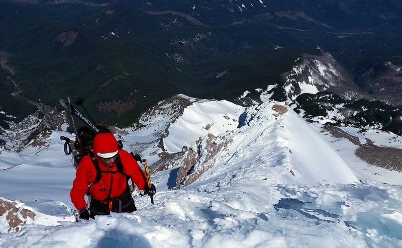 Cathedral Ridge: Mt. Hood's rarely climbed classic