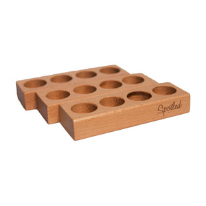 Wholesale Spoiled Wooden Block - 4 hole (Case 25)