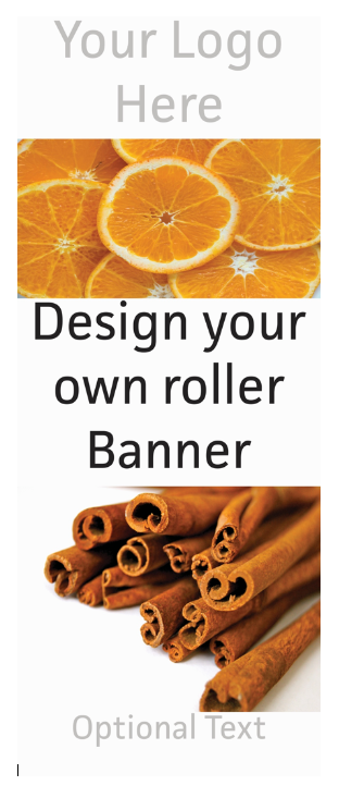 Custom Roller Banner Design - With Printing