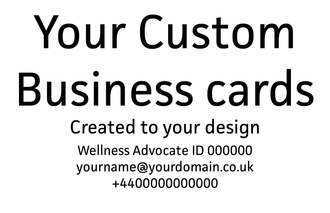 Business Card Custom Design - With Printing