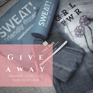 FRECKL x SWEAT! Giveaway