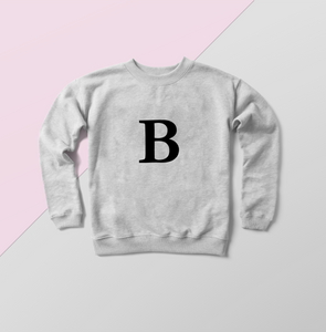 alphabet fashion, alphabet design, fashion sweater, sweater weather, designs for personalisation, personalise me, unique gift, unique gifting