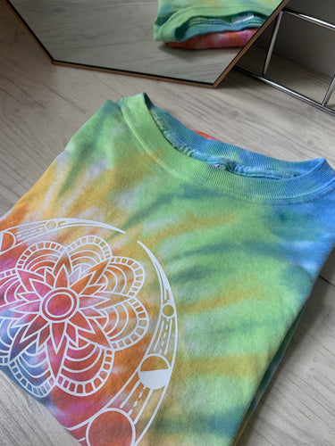 wild & free, free, wild, tie dye, summer clothing, summer outfir, summer style, wild one, womens clothing, ladies summer outfit, womens tshirt, womens clothing, mandala print, mandala graphic, tie dye fashion, hippie fashion