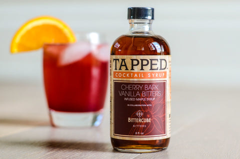 Tapped Cherry Bark Vanilla Bitters infused Maple Syrup image