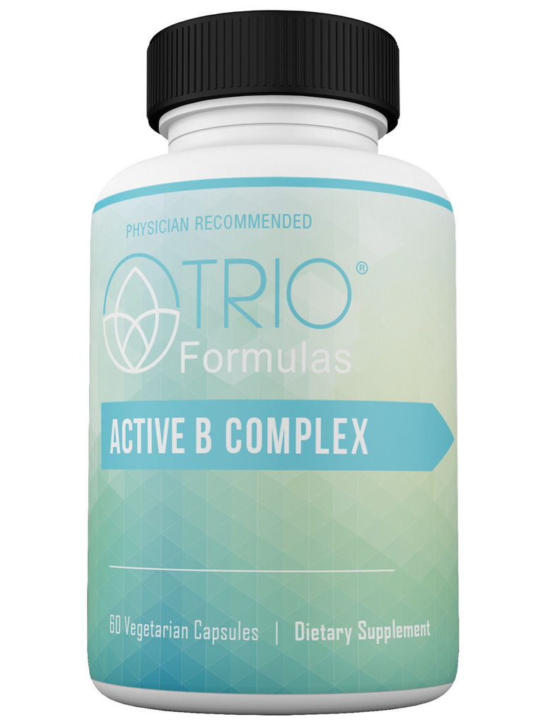 Active B Complex- Contains Eight Essential B Vitamins, Protects Against Stress-Induced Nutrient Depletion, Builds Metabolic Reserve,  Protects Against Dietary Deficiencies, Supports Healthy Metabolism and Provides Baseline Nutrition 60 Capsules