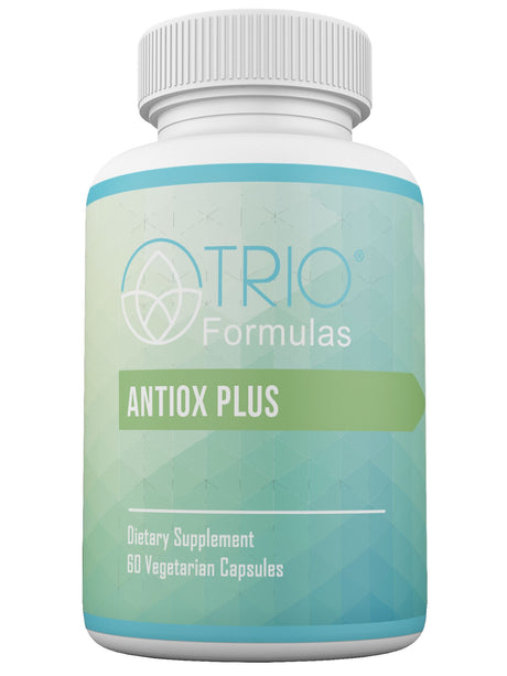 Antiox Plus  Detoxifying Liver Support Supplement  Combat Free Radicals and Help Support Cleansing, Made with Non-GMO Ingredients + Antioxidants Green Tea and Grape Seed Extract, 60 Capsules