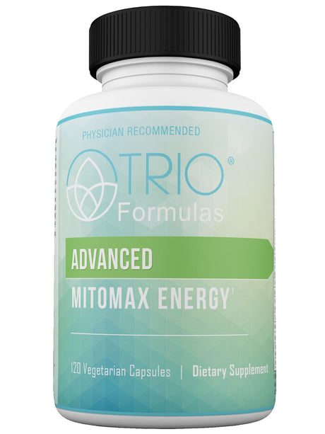 Advanced MitoMax Energy - Mitochondrial Support Boosts Cellular and Mitochondrial Energy Production, Maximize Antioxidant Capacity, Support Detoxification, and Strengthen Immune Response. 120 Capsules