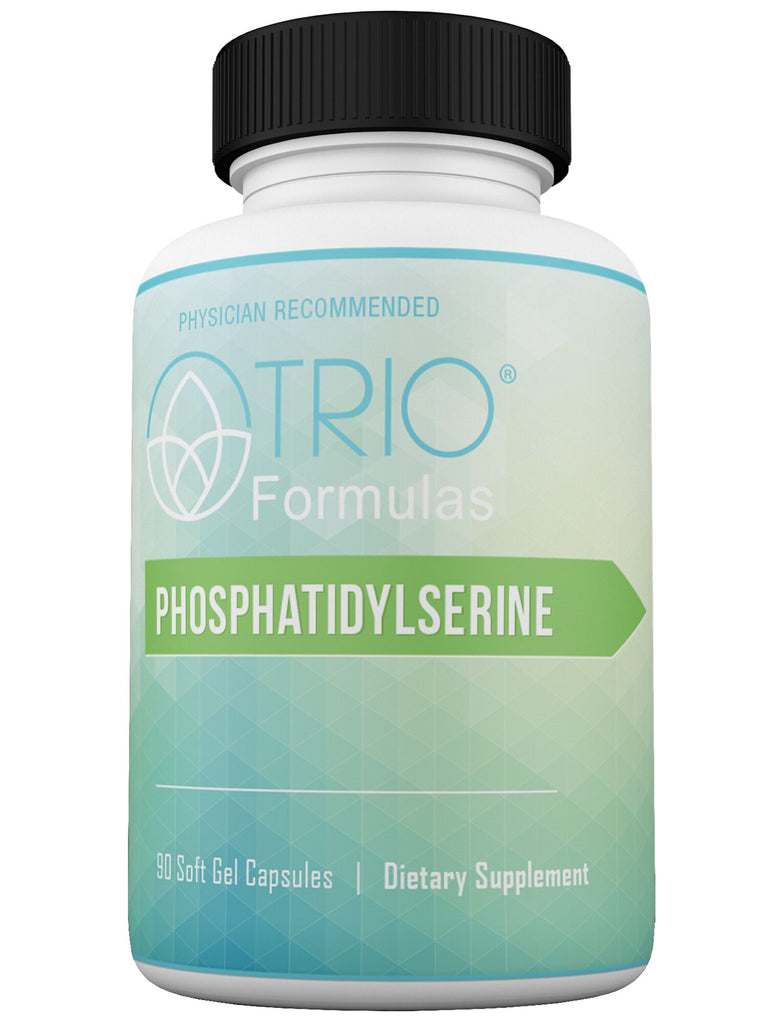 Phosphatidylserine Aids the Slowdown of Age-Related Cognitive Decline, Enhances Memory, Focus and Sense of Calm, Improves Resilience to Stress, Boosts Athletic Performance, Combats Depression & May Improve Symptoms of Alzheimer's 90 Soft Gel Capsules