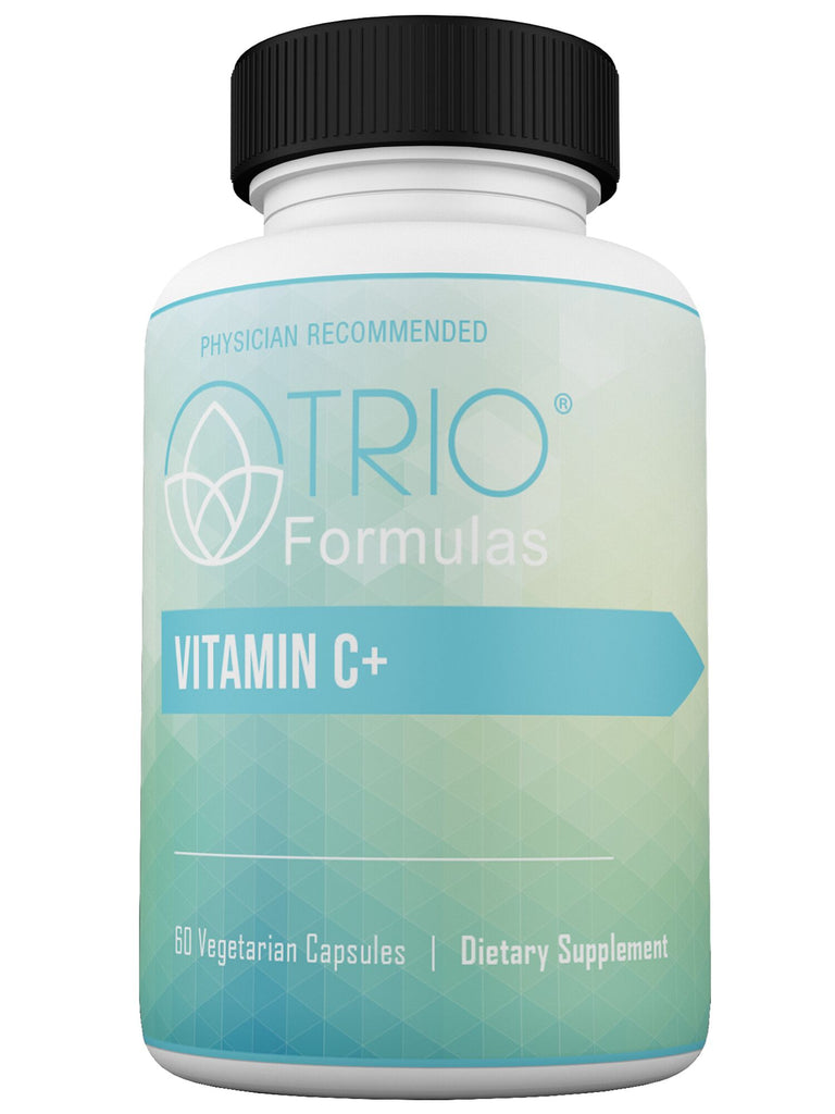 Vitamin C+ Promotes Healthy Collagen Formation to Maintain Healthy Blood Vessels, Supports Antioxidant Reserve, Supports Inflammatory Balance & Boosts Immune System Function