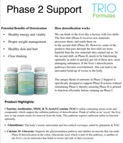 Phase 2 Support - Natural & Safe Amino Acid Liver Detox Support + Glutathione + NAC, Optimal Doctor Recommended Formula & This Product is Non-GMO. 90 Capsules