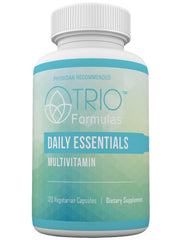 Daily Essentials Multivitamin • Full Spectrum Antioxidant Protection • Builds Metabolic Reserve and Protects Against Dietary Deficiencies • Protects Against Stress-Induced Nutrient Depletion • Supports Healthy Metabolism • 120 Capsules