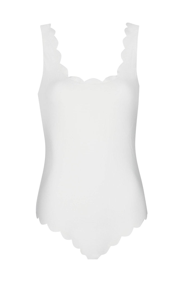 Long Torso Palm Springs Maillot in Coconut