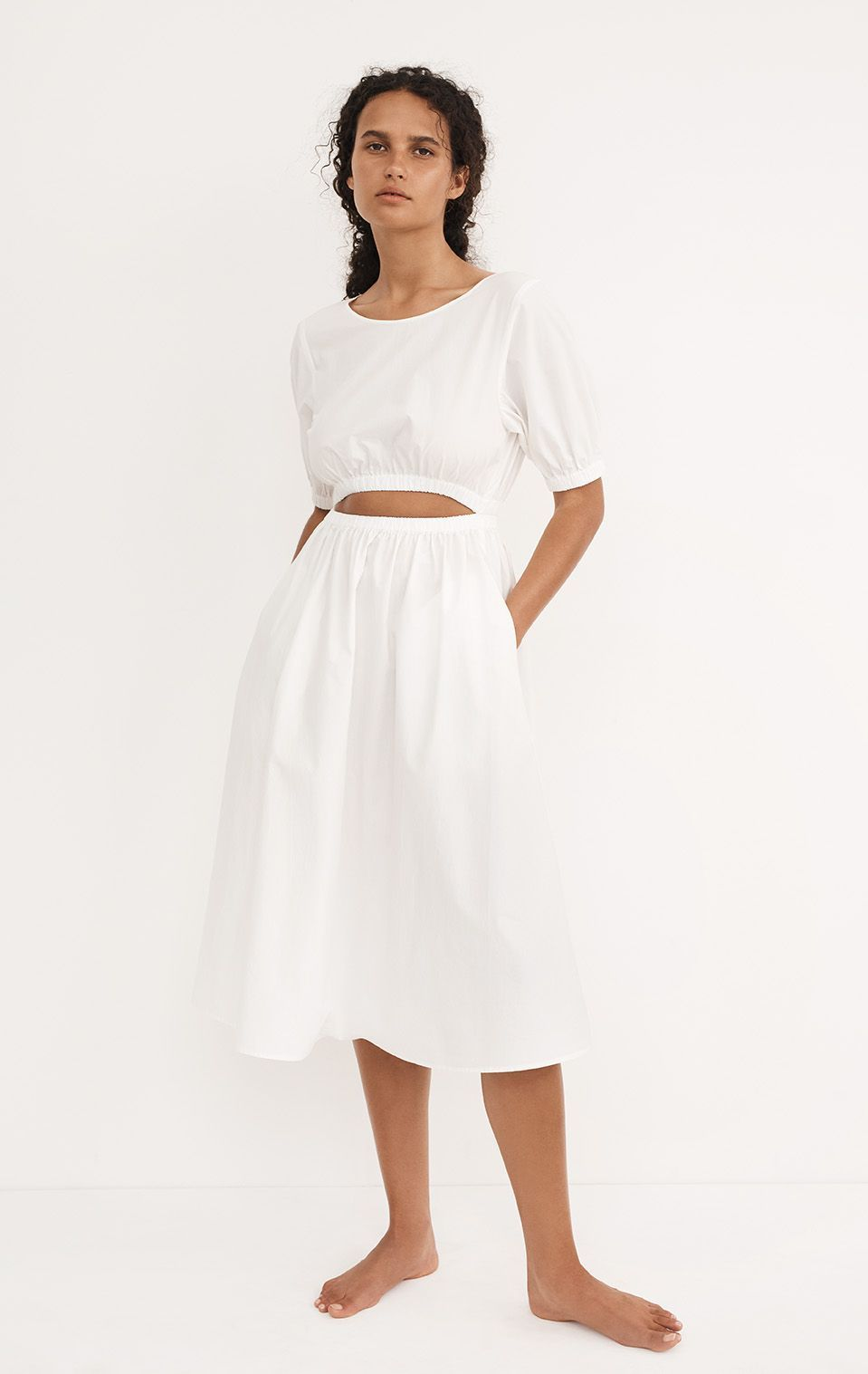 Lecce Dress in Coconut