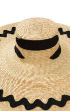 Provencal Hat in Natural/Black *COMING SOON*