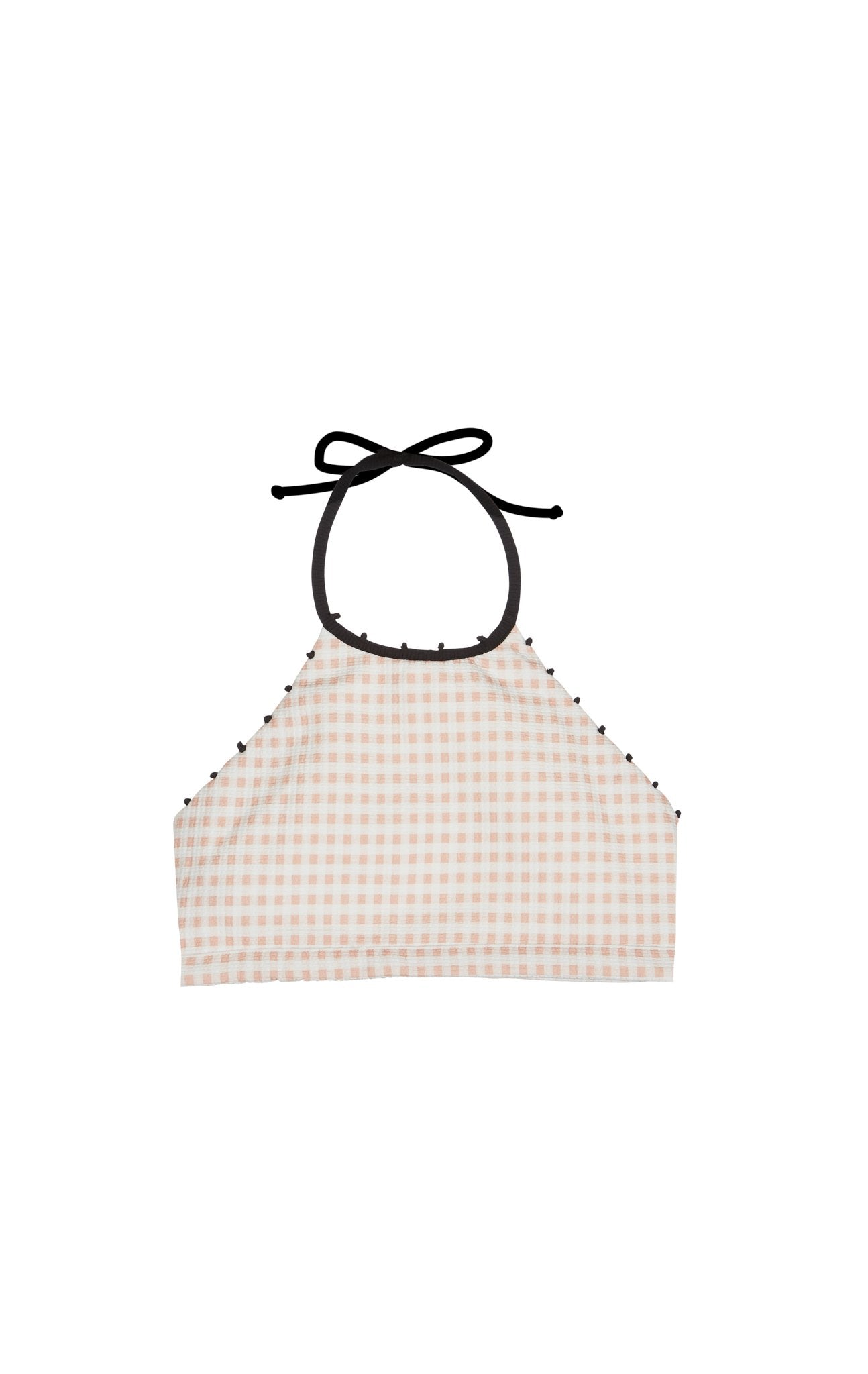 Bumby French Mott Top in Lemonade Gingham