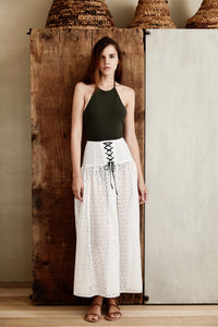 Riviera Skirt in Coconut