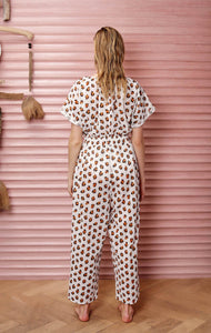 Tinos Jumpsuit in Leopard Print