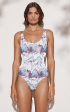 Lucera Maillot in Electric Print