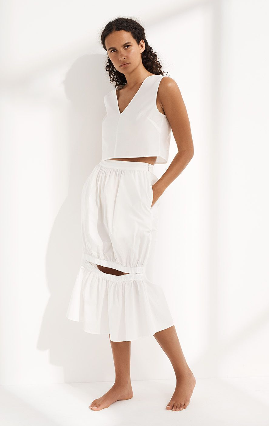 Borgo Skirt in Coconut