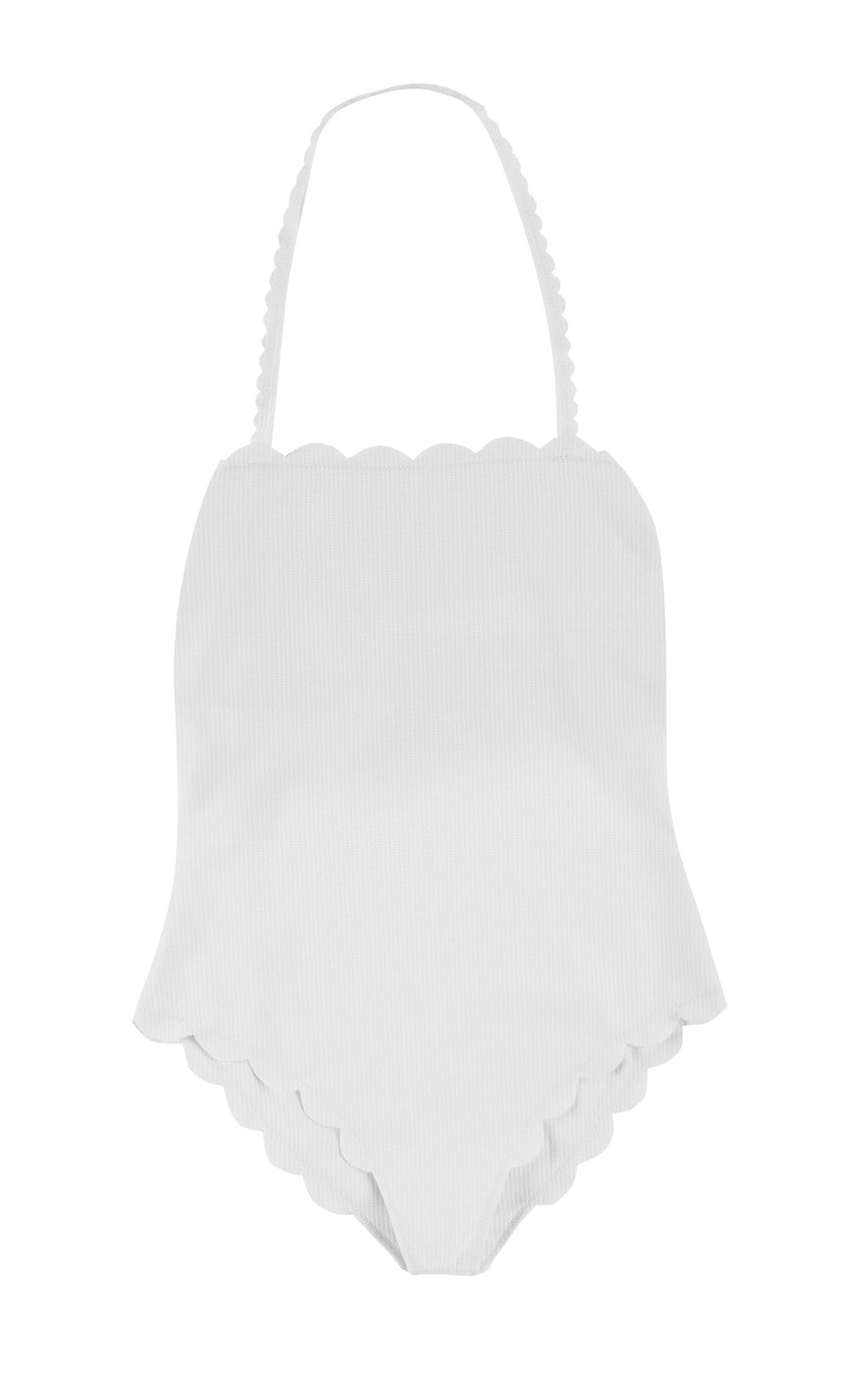 Santa Monica Maillot in Coconut
