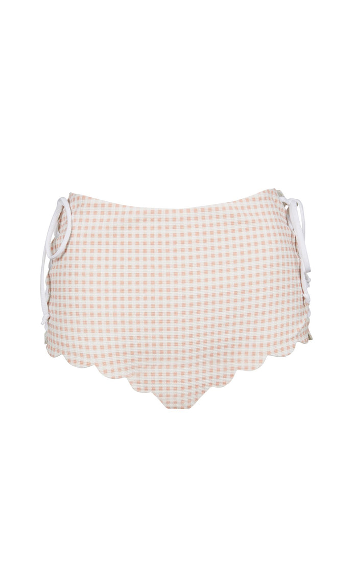 Palm Springs Tie Bottom in Lemonade Gingham