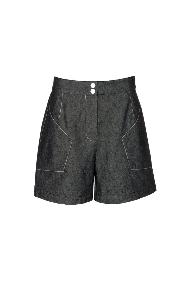 Jitney Shorts in Black